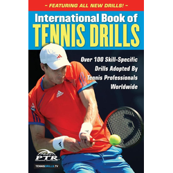 International Book of Tennis Drills als Taschenbuch von Professional Tennis Registry