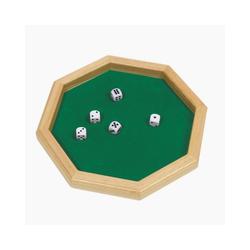 goki Spiel, Würfelglück Würfelteller mit 5 Würfeln