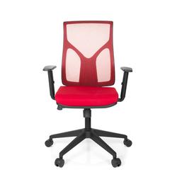 TURAN - Home Office Bürostuhl Rot