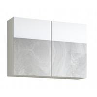 VCM Flandu 61 cm weiß/grau