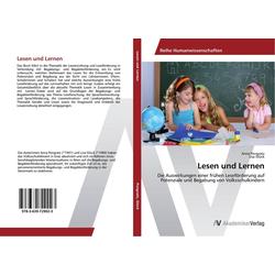 Lesen und Lernen als Buch von Anna Pongratz/ Lisa Glück