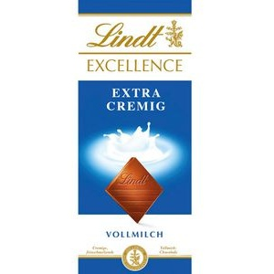 Lindt Tafelschokolade Extra Cremig, Vollmilchschokolade, 100g