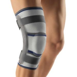 Bort Stabilo® Kniebandage mit Gelenk Knie Gelenk Bandage Schiene Stütze, Rechts, XL