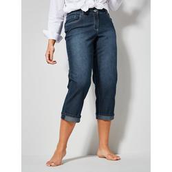 Straight Cut Jeans Amy Dollywood Blau