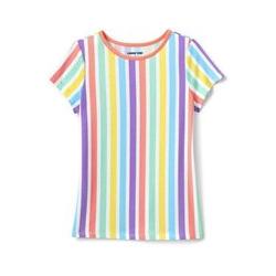 Shirt mit Farbmustern - 122/128 - Sonstige