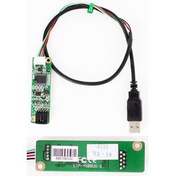 TOUCHSCREEN-CONTROLLER (ETP-4500UG-B, V2.19, 4-wire resistive, EETI/EGALAX) mit 45cm USB Kabel