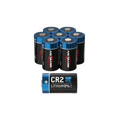 ANSMANN® 8x CR2 Lithium Batterie 3V - Hochleistungsbatterie (8 Stück) Batterie