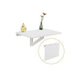 SoBuy Klapptisch FWT03, Wandklapptisch Küchentisch Esstisch weiß