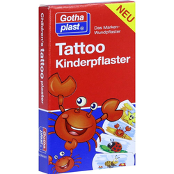 Tattoo Kinderpflaster 25x57 mm 8 St