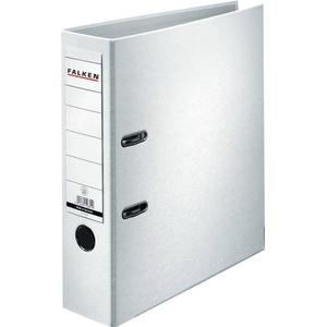 Falken Ordner PP-Color DIN A4 Rückenbreite: 80mm Weiß 2 Bügel 9984030