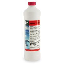 1 x 1 kg Flüssiges BAYZID® Chlor für Pools in 1-kg-Flaschen