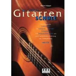 Käppels Gitarrenschule. Inkl. CD als Buch von Hubert Käppel
