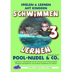 Pool-Nudel & Co., laminiert