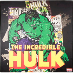 MARVEL Leinwandbild The Incredible Hulk, (1 Stück)