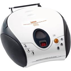 Lenco Lenco SCD-24 pink CD-Player weiß