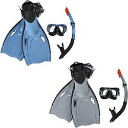 """Hydro-Pro™ Schnorchelset """"Blacksea"""", Größe: 37,5-41, sortiert blau/grau"""