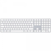 Apple Magic Keyboard mit Ziffernblock DE silber (MQ052D/A)