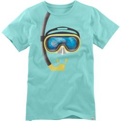 T-Shirt Hologramm, türkis, Gr. 128/134 - 128/134 - türkis