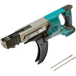 Makita Akku-Magazinschrauber DFR550Z blau Akkuschrauber Werkzeug Maschinen