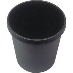 Papierkorb 18l schwarz