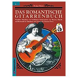 Das romantische Gitarrenbuch  m. Audio-CD - Buch