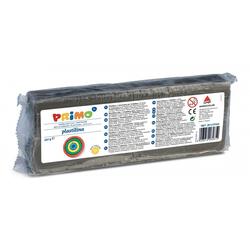 Primo Knete Plastilin Knete im Block, Spiel-knete 550 g, in versch. Farben grau