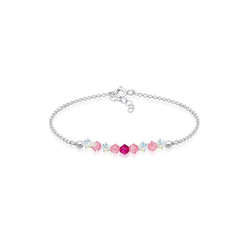 Elli Armband Kinder Beads Kristalle 925er Silber, Modeschmuck
