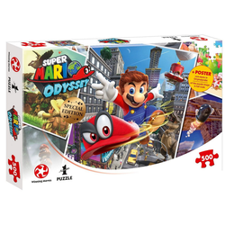 Winning Moves Steckpuzzle Puzzle Super Mario Odyssey World Traveler, 500 Puzzleteile