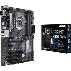 Asus PRIME H370-PLUS Mainboard Sockel Intel® 1151v2 Formfaktor ATX Mainboard-Chipsatz Intel® H370