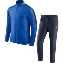 NIKE Herren Trainingsanzug weiß / royalblau