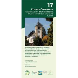 Kleiner Odenwald - Kraichgau mit Brunnenregion 1 : 20 000