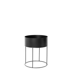Pflanzgefäß Plant Box schwarz, Designer ferm LIVING, 50 cm