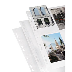 Hama 00009787 Fotohüllen Hochformat Weiß 10 x 15cm