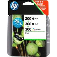 HP 300 2x schwarz + CMY (SD518AE)