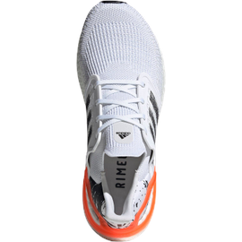 adidas Ultraboost 20 M white/core black/signal coral 41 1/3