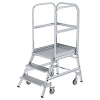 Günzburger Aluminium-Podestleiter 3 Stufen (50103)