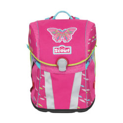 Scout Schulranzen Basic Sunny - Pink Butterfly