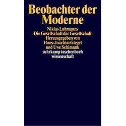 Beobachter der Moderne - Buch