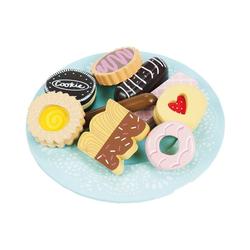 Le Toy Van Spiellebensmittel Honeybake Keks- und Tellerset