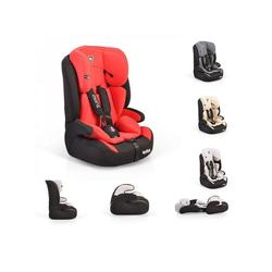 Moni Autokindersitz Kindersitz Armor Gruppe 1/2/3, 5.4 kg, (9 - 36 kg) 1 bis 12 Jahre, Innenkissen rot