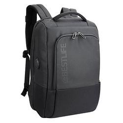 BESTLIFE Rucksack Travelsafe Neoton BB-3401 Kunstfaser schwarz