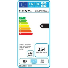 Sony KD-75XG8096