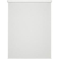 Seitenzugrollo Comfort Move Rollo, GARDINIA, Lichtschutz, ohne Bohren, freihängend, ohne Bedienkette weiß 120 cm x 150 cm