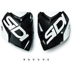 Sidi Crossfire 2 Shin Plates Shin Platen, zwart-wit, Eén maat