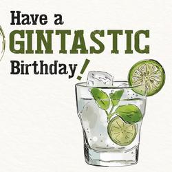 Gin Geburtstagskarte No.1