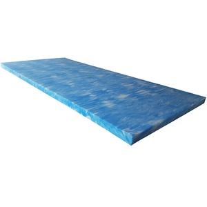 snoozo GELAX® | Atmungsaktiver Gel-Schaum Topper Matratzenauflage | Ohne Bezug | RG 50 | 5 cm Gesamthöhe | Alle Zuschnitte und Größen möglich | Qualität Made in Germany (200 x 200 cm)