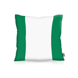 Kissenbezug, VOID, Nigeria WM Flagge Fahne Fan-Outdoor Flag Afrika 40 cm x 40 cm