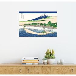 Posterlounge Wandbild, Ufer von Tago Bucht Ejiri bei Tokaido 60 cm x 40 cm
