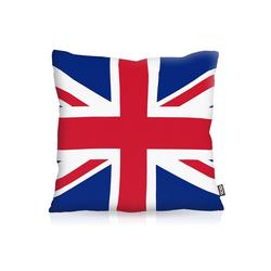Kissenbezug, VOID, England Great Britain EM WM Flagge Fahne London Union Jack 80 cm x 80 cm