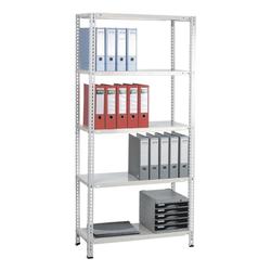 Grundregal »Multiplex 5 OH« 80 x 35 cm weiß, SZ Metall, 80x180x35 cm